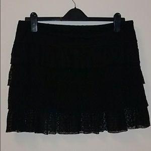 Betsey Johnson swimsuit cover up skirt